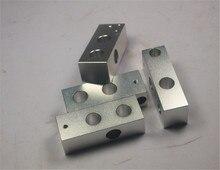 3D printer reprap mendel prusa cnc metal corner holder kit more robust reprap prusa i3 corner aluminum pieces set
