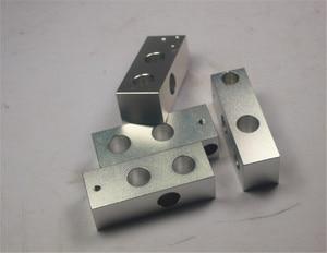 Image 1 - 3D מדפסת reprap מנדל prusa cnc מתכת פינת מחזיק ערכת יותר חזק reprap prusa i3 פינת אלומיניום חתיכות סט