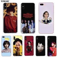 YIMAOC Finn Wolfhard Millie Bobby Brown Soft TPU Silicone Case for Apple iPhone 8 7 6 6S Plus X 5 5S SE XS Max XR