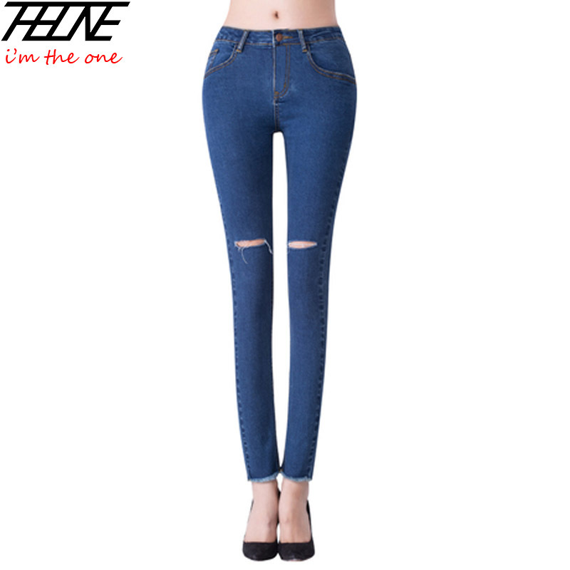 Aliexpress.com : Buy New Fashion Skinny Jeans Women Denim Pants ...