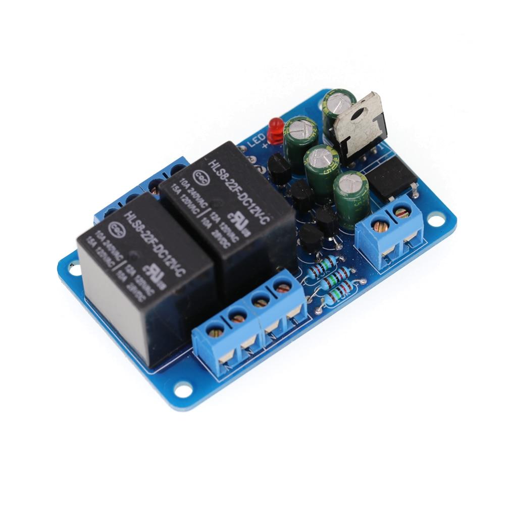 Audio Amplifier Speaker Protection Board For Boot Delay DC Protect lige horloge 2017
