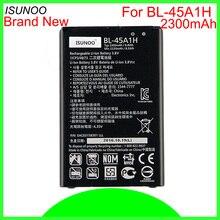 ISUNOO 10 шт./лот 2300 мА/ч, BL-45A1H Батарея для LG K10 F670L F670K F670S LTE Q10 K420 батареей batterja мА/ч. аккумулятор
