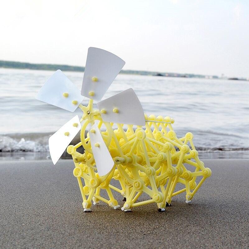 1 шт. бионическое изобретение «сила ветра», diy маленькая игрушка, ручная робот головоломка, научный эксперимент, учебник, детский Собранный блок, подарок| |   | АлиЭкспресс - Небанальные детские игрушки