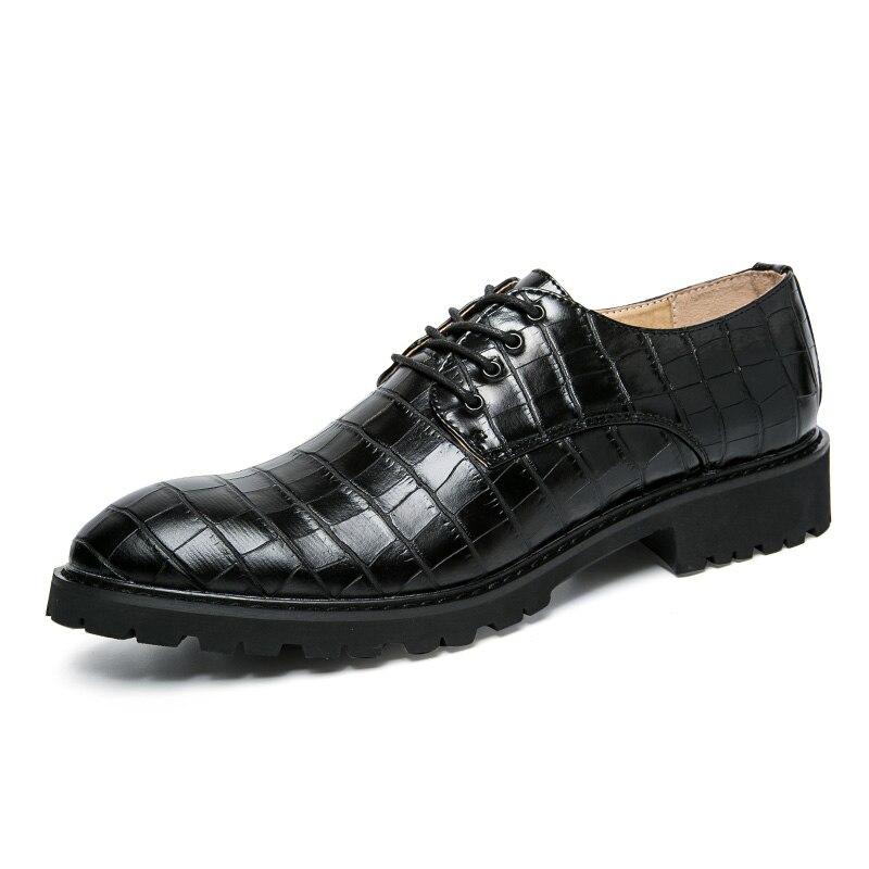ФОТО Top Quality Men Casual Shoes Men Microfiber Leather Oxfords Shoes Men Classic Black Wedding Shoes Spring Autumn Male Flats