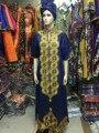 Ropa de mujer africana África africano Bazin Riche bazin vestido para las mujeres ropa de mujer bordada ropa tradicional Africana