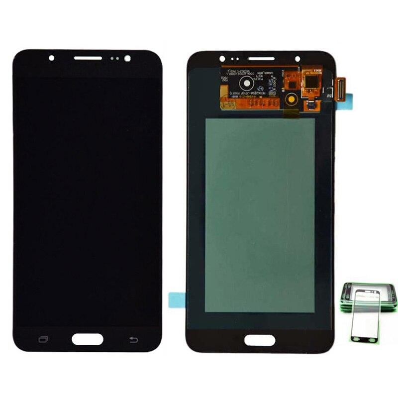 100% D'origine AMOLED LCD Pour Samsung Galaxy J7 2016 J710FN J710F J710M J710Y Écran LCD avec Écran Tactile Digitizer Assemblée