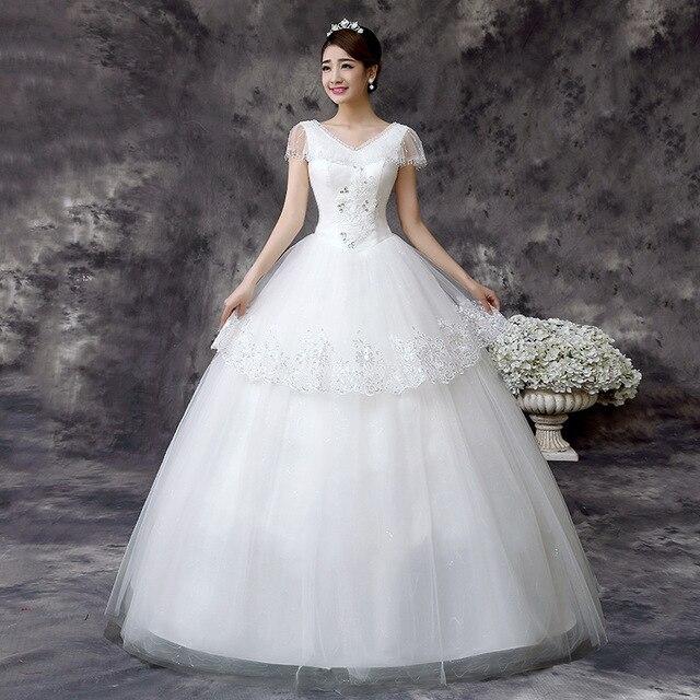 Aliexpress Best Selling Studded Slim Slimming Wedding Dresses Code