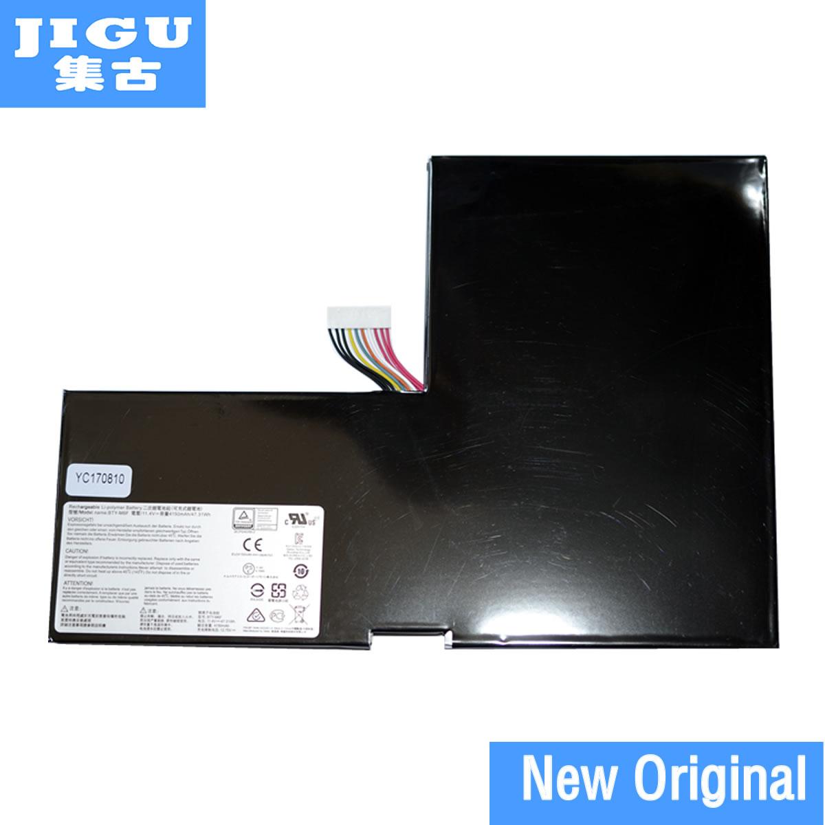 JIGU BTY-M6F MS-16H2 Original Bateria Do Portátil Para MSI 16H2 GS60 PX60 2PL 2 pc 2PE 2QC 2QD 2QE 6QC 6QE BTY-M6F Baterias