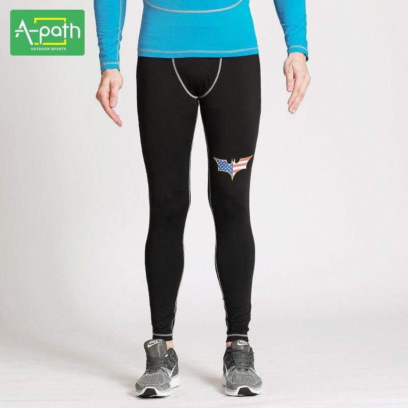 Mens Sports Fitness Crossfit Running Survetement font b Football b font 2018Training Leggings Pants Tights Jogging