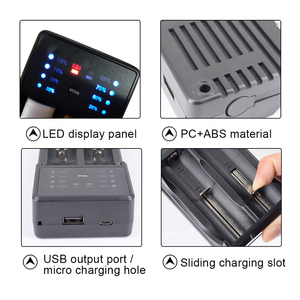 Image 5 - PALO LED USB Multi Purpose Battery Charger for 3.7V 18650 26650 16340 14500 10440 18500 1.2 V AA AAA rechargeable battery