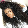 Kinky Curly Wig Lace Front Human Hair Wigs 250% Density Full Lace Human Hair Wigs 7A Brazilian Virgin Human Hair Lace Front Wig