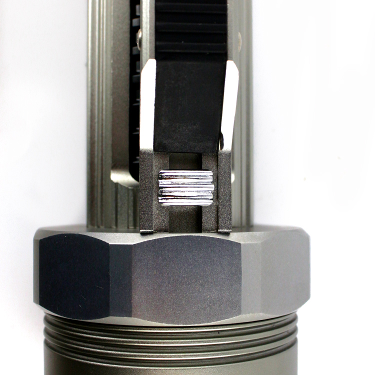 Haute luminosité XM L2 9000 Lumen 6X CREE XML L2 LED professionnel plongée linternas étanche lampe de poche pour 26650/32650 - 4