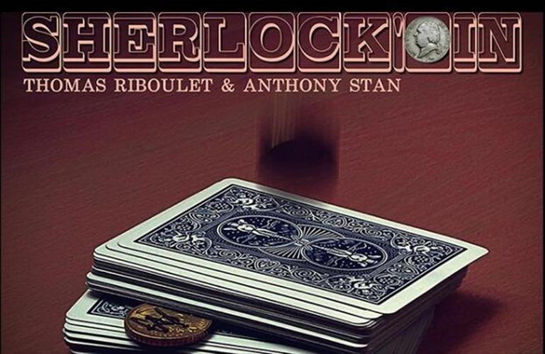 Card Magic Trick,menatlism,illusion,close Up,fun,magia Toys Classic Loyal Sherlockoin By Thomas Riboulet gimmick+online Instruct