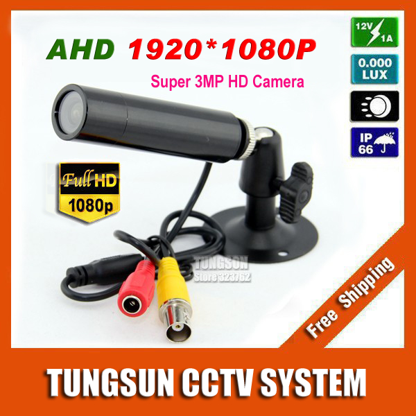 New Super HD AHD 3MP Mini CCTV 1920*1080P Waterproof Micro Surveillance Small Vandal-proof Bullet Security Camera 6mm lens экшн камера ridian bullet hd 3 mini