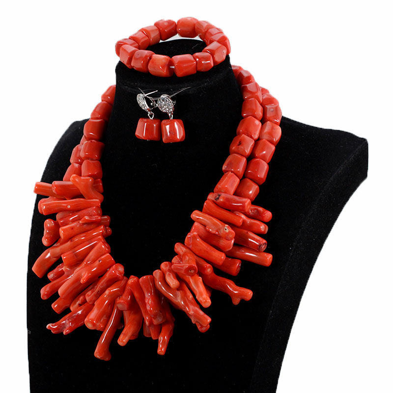 African Nigerian Wedding Coral Beads Jewelry Set Green Chunky Beads Statement Necklace Set Baroque Style CNR035 African Nigerian Wedding Coral Beads Jewelry Set Green Chunky Beads Statement Necklace Set Baroque Style CNR035