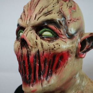 Image 3 - Scary Volwassen Halloween Monster Zombie Masker Latex Kostuum Party Horror Gezichtsmasker Volledige Hoofd Vampire Cosplay Maskerade Props
