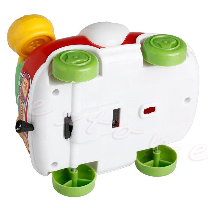 Купить с кэшбэком 1Pc Baby Toys Music Cartoon Phone Educational Developmental Kids Toy Gift New