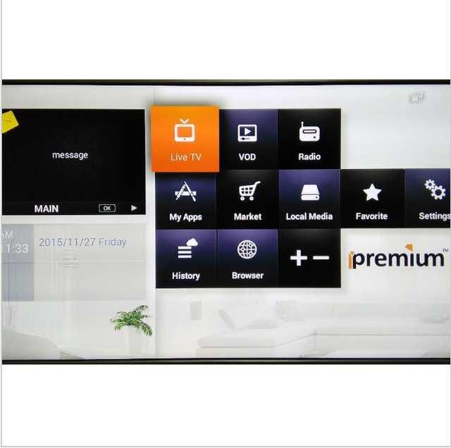 Arabic Ipremium I7 Smart Android IPTV Box POPTV 1300+Polish UK Bulgaria  Serbian Belgium Iraq Iran Portugal TV Set top Box