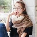 Осенью и зимой новый шарф хлопка Женщин тонкий пункт шарф печати Девушка моды диких шаль