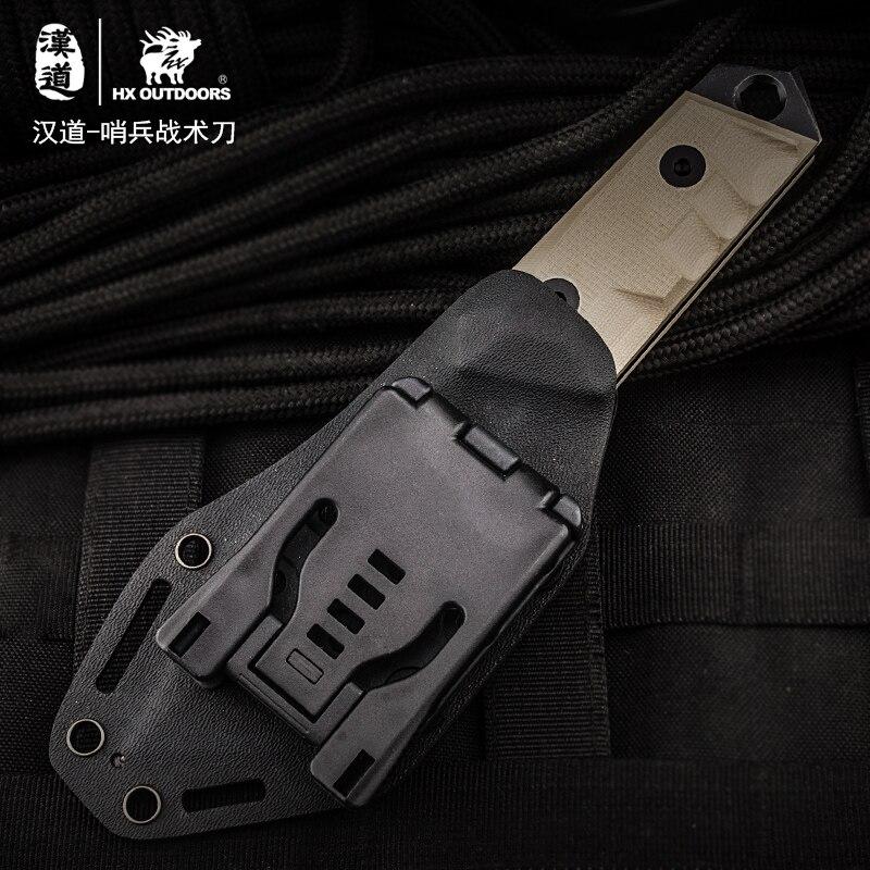 """""""HX OUTDOORS"""" dovanų peilis nešiojamas EDC gynybos išlikimas - Rankiniai įrankiai - Nuotrauka 4"""