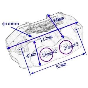 Image 2 - Pinza de freno Universal para motocicleta Yamaha Aerox Nitro, RSZ, JOG, BWS, Zuma, 50 rr + 200mm / 220mm