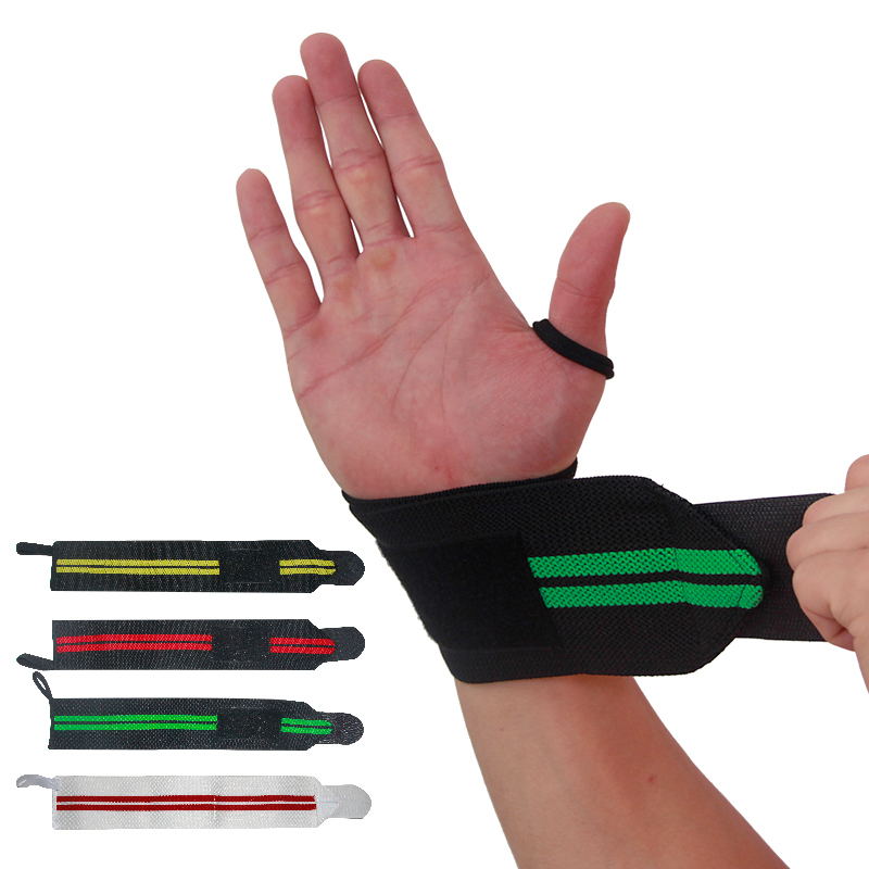 1 Pcs Wrist Protector Wraps Wrist Protector Support Straps For Weightlifting, Bodybuilding, Cross-fit, Fitness Sports