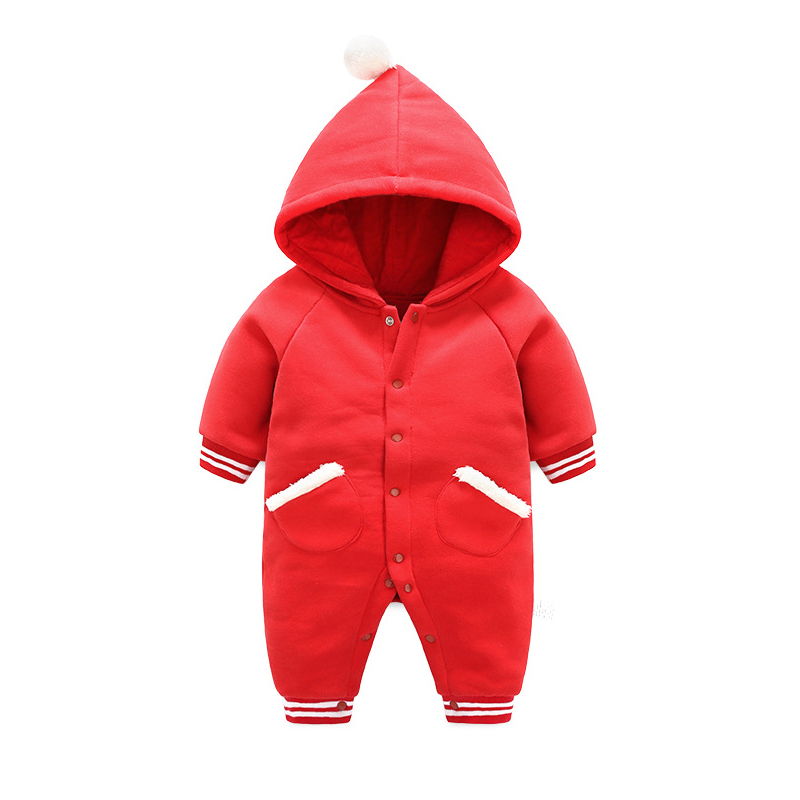 Baby Boy Clothes Newborn Infant Girls Baby Romper Spring Kids Jumpsuit Toddler Girl Long Sleeve Rompers Hoodies Boys Clothing newborn infant baby boy girl clothing cute hooded clothes romper long sleeve striped jumpsuit baby boys outfit