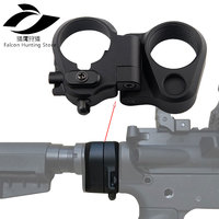 Hunting Accessory M16/M4 SR25 Series GBB(AEG) AR folding Stock Adapter Scope Mounts
