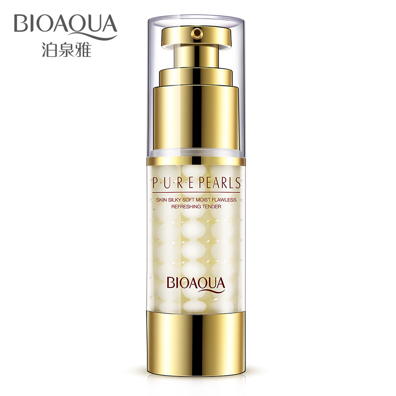 BIOAQUA Pure Pearl Collagen Hyaluronic Acid Face Skin Care Essence Moisturizing Hydrating Anti Wrinkle Anti Aging Facial Cream the beauty salon hyaluronic acid white super hydrating facial massage cream 500 grams