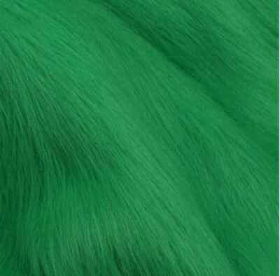 Tkanina sztuczne futro, imitacja tkaniny futro zwierzęce, welurowa tkanina do szycia, szerokość 1.6 m, sprzedaż na pół metra