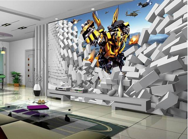 3d wallpaper custom mural non woven 3 d room wallpaper 3 d3d wallpaper custom mural non woven 3 d room wallpaper 3 d transformers broken wall paintings photo 3d wall murals wallpaper