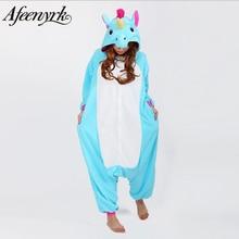 Afeenyrk Единорог женские мягкие удобные пижамы комплект пижамы домашней одежды пижамы унисекс домашняя одежда для девочек/мальчиков/пижамы для взрослых