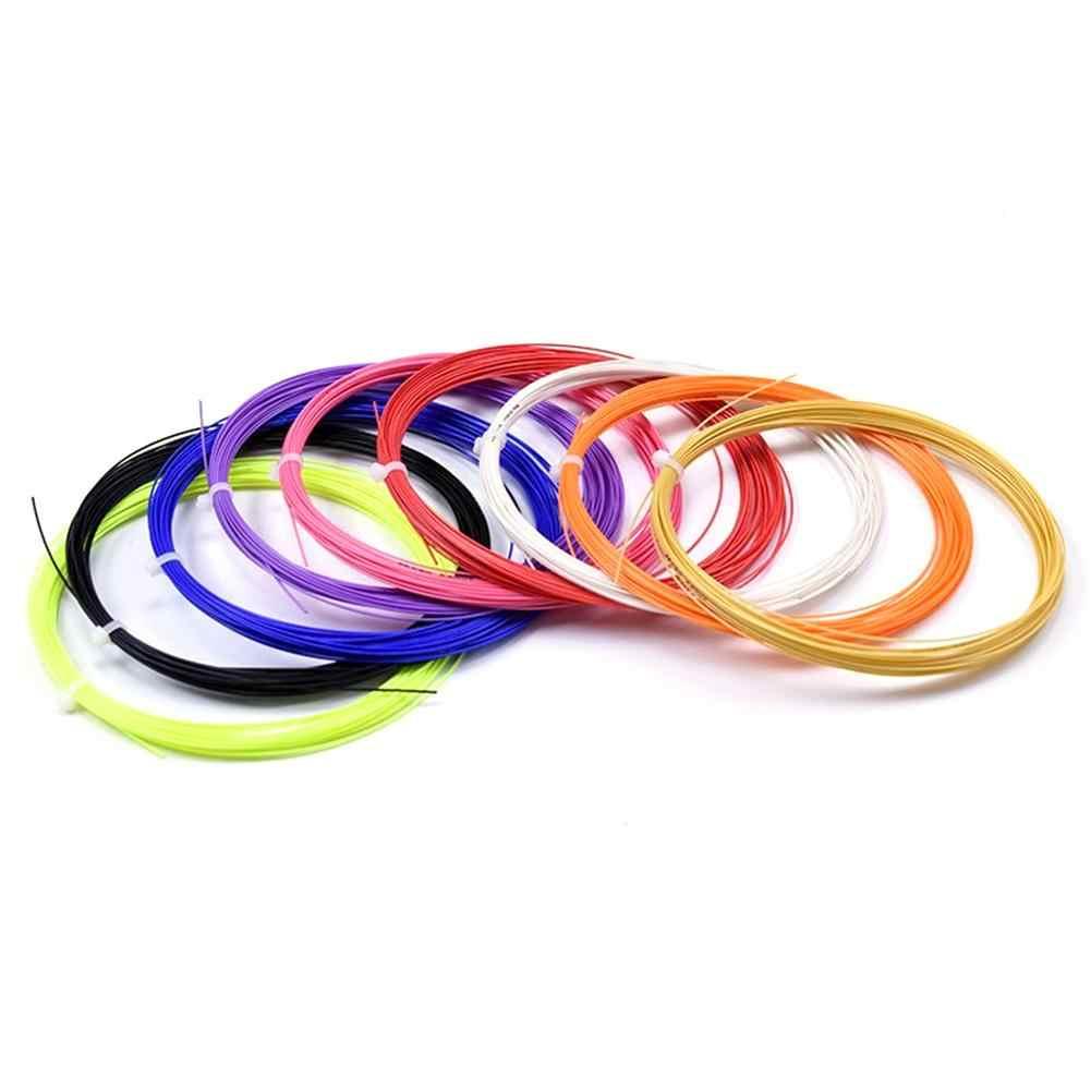 Professional แบดมินตันสตริงทีมทนทาน Repulsion Power Line สุทธิการจัดส่งสีแบบสุ่ม High - tech String