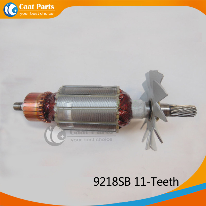 AC 220V 11-Teeth Drive Shaft Electric Hammer Armature Rotor for Makita 9218SB , Brand New! High-quality! Free shipping! ac 220v 11 teeth drive shaft electric hammer armature rotor for makita 9218sb brand new high quality free shipping