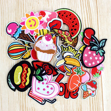 30pcs/lot Cute Fashion patches for Children lovely girls iron on patch for clothes girils clothing DIY accessory