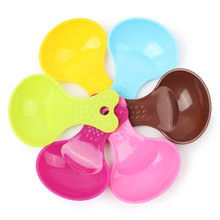 Pet Food Spoon Small Cat Litter Scoop Shovel Feeding Dog Spade Dishes Candy Color Toys