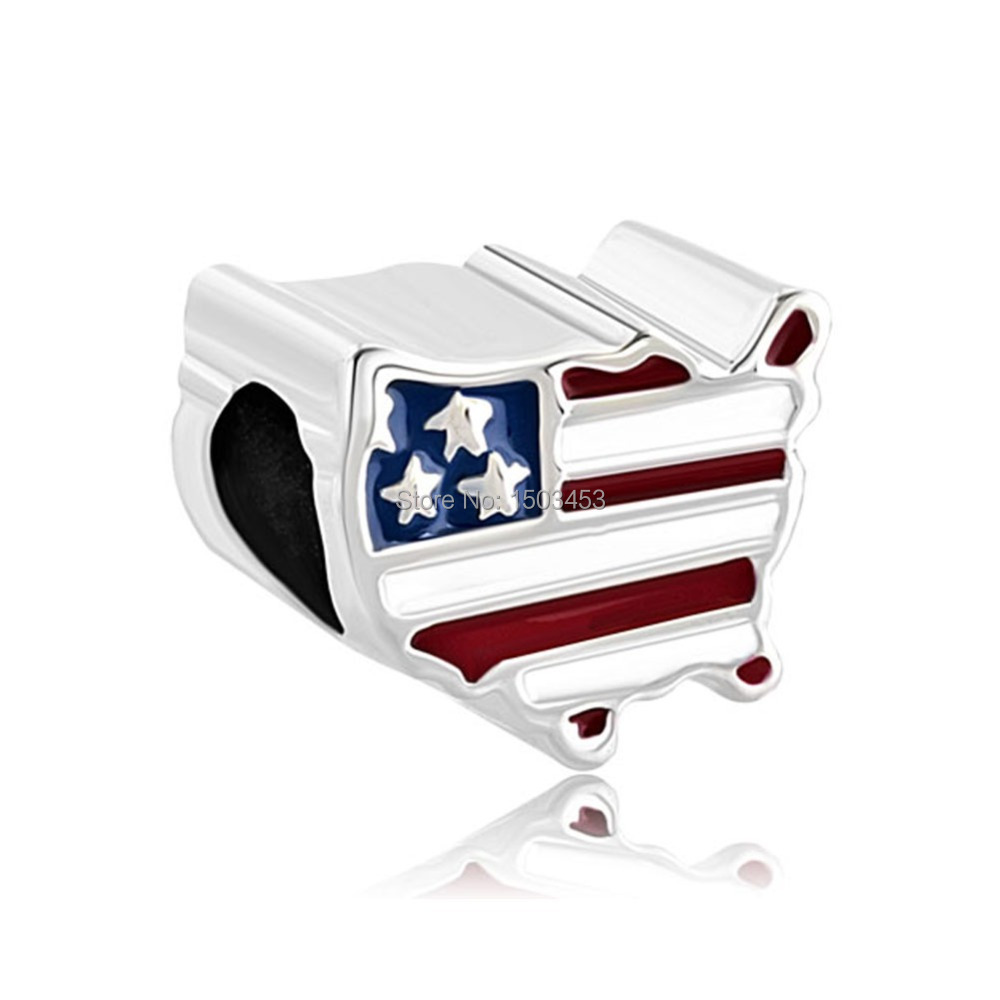 Online Buy Wholesale American Flag Beads From China American Flag - China map in us flag