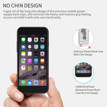 CHOETECH Battery Charger Case For iPhone 8/7/ 6/6S 4.7 inch 2850mAh Portable Power Bank External Pack Backup Case for iPhone 6
