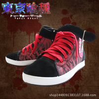 2017 Hot Explosion Models Tokyo Ghoul Jin Mu Concept Research Canvas Shoes Cosplay High Quality Sports