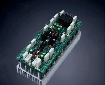 2020  1000W  2CA1837/2SC4793 pushing TTC5200 / TTA1943 1 channel amplifier board