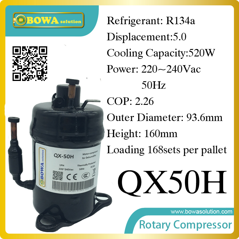 520W Cooling capacity fridge compressor (R134a) suitable for supermaket cooling equipment large cooling capacity indepedent electronic expansion valves eev unit suitable for tandem compressor unit or compressor rack