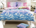 3d Bedding Fashion Bedding Set Blue Sky Cloud Printing Duvet Cover Bedding Set Bed Linen Duvet Cover 3PCS Double/Queen/King Size
