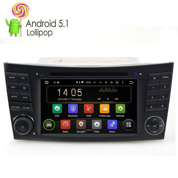 Android 9.0 GPS Navigation Multimedia DVD Player For Mercedes Benz E Class W211 E200 E220 E240 E270 E280 CLS W219 CLK W209 W463 image