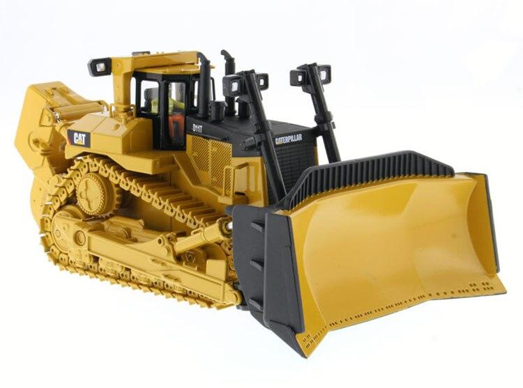 Литая игрушка модель DM 1:50 Caterpillar Cat D11T Гусеничный Трактор БУЛЬДОЗЕР Engineering Machinery 85212 для мальчика подарок, коллекция
