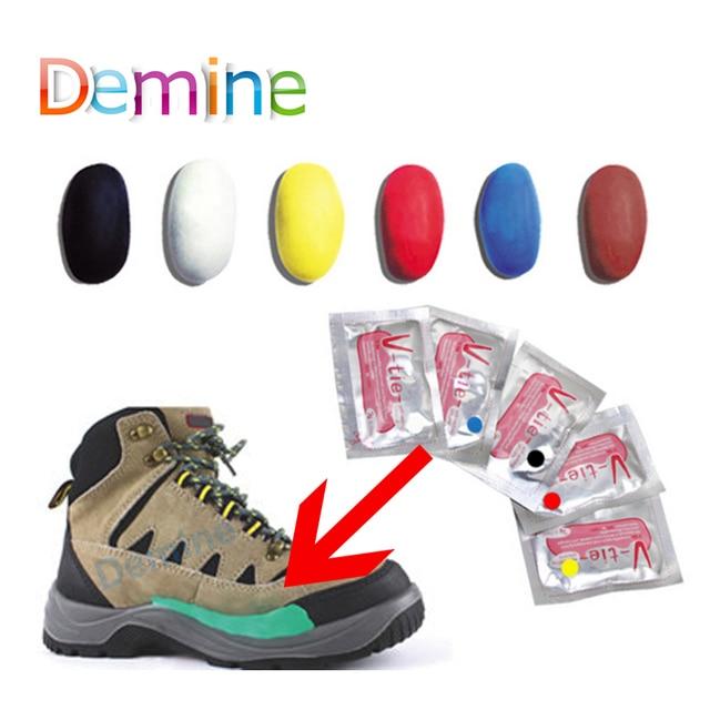 Demine Moldable Keo Giày Sửa Chữa Dán DIY Tự Thiết Lập Silicone Bùn Sửa Chữa Mọi Thứ Sugru Họ Nhựa Cao Su Chăm Sóc Giày dụng cụ