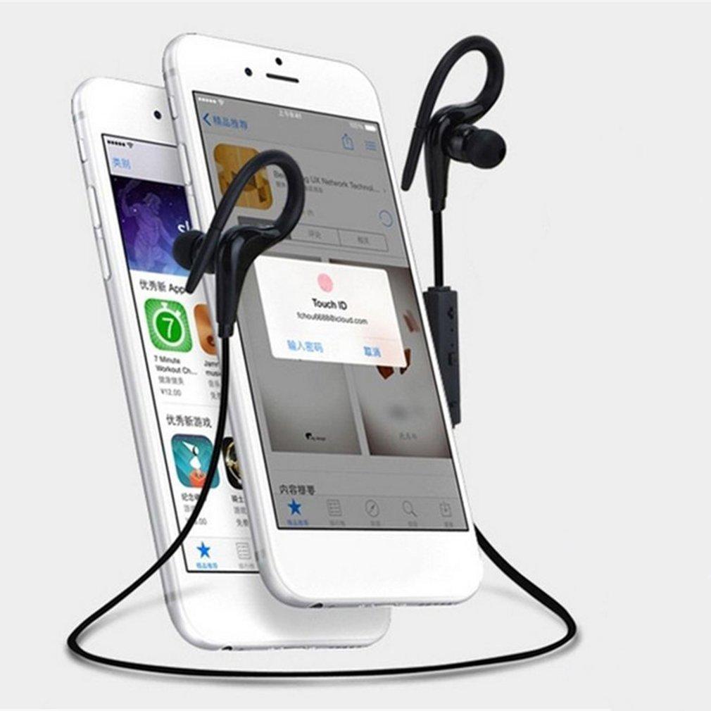 Luli hook black Earphone Headset Earbuds Bass Cancelling Noise Wireless Bluetooth for Apple iPhone Xiaomi sony Phone Earpiece