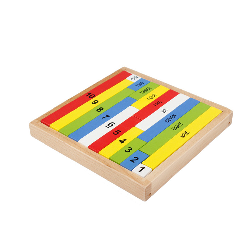Children Wooden Number Sticks Building Blocks Kids Math Learning Toy Kid Early Educational Digital Blocks Toy Gifts wooden educational tool number building blocks number sticks kids math learning educational toy ao p