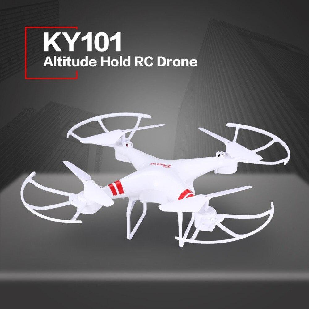 Romantisch Ky101 Höhe Halten Drohne Headless Modus 3d Flips One Key Rückkehr Nehmen Off/landung Schweben H/l Geschwindigkeit Schalter Rc Quadcopter Fernbedienung Spielzeug