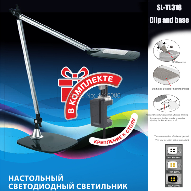 LED Desk Lamp Gesture Control Adjustable Architect Lamp Tall Design Drafting Table Lamp Eye Care Desk Lighting for Office
