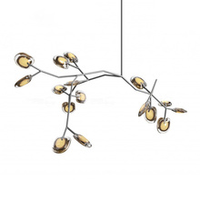 Nordic post modern art cherry-piece chandelier living room dining  creative fashion new classical American